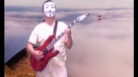 7.1最炫民族风 电吉他练习自拍 AE后期合成 加强版