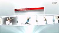 AE高端商务企业宣传片头 手指触目科技展示 公司企业发展历程时间线