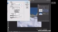 PS教程视频74 PS飞机穿越云层特效  部落窝 (2)