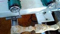 罗马柱雕刻机视频 楼梯扶手雕刻视频 老虎腿四轴联动雕刻机  厂家直销价格低