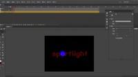 flash 遮罩 聚光灯效果 教学视频