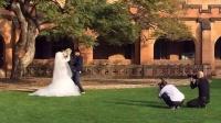 奶茶妹被曝悉尼拍婚纱照 疑好事将近 150524