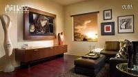 青年居室定制家具定制电视柜设计