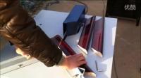 视频: 切角机4 裱框组角机视频 画框拼框机器 十字绣切角机厂家直销