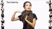 2013年最受欢迎的女士时尚围巾系法视频_标清