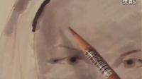 【意大利女画家agnescecile】如何运用马克笔和彩铅绘制头像_