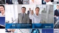 AE模板2971-现代企业多视频多照片汇聚展示AE模板