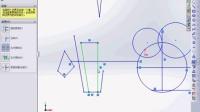 solidworks基础教程-剪裁工具的使用方法