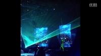 上海韩在元顶尖激光舞团在浙江宁波电视台录制节目激光舞