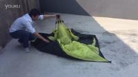 迪威诺液压帐篷收纳