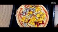 舌尖上的烘焙系列--水果披萨+可可戚风