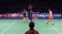 BCA Indonesia Open 2015  - Badminton SF M4-WS - R. Intanon vs Wang