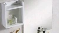 蒙娜丽莎 现代实木浴室柜组合挂墙式洗漱台盆洗手洗脸盆卫浴柜