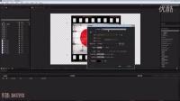 AE老电影胶片效果教程AE教程AE自学教程AE入门教程AE