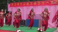 利辛县纪王场中心幼儿园美女老师们的印度舞蹈