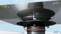 RainPlus-雨水斗与沥青薄膜链接安装视频