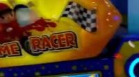 大型电玩城娱乐设备儿童赛车机投币游戏机游艺机火焰飞车二代新款