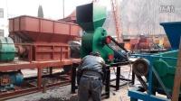河南建矿双级无筛底粉碎机,湿料粉碎机无筛底产量大,脱硫石灰双级粉碎机,双级移动式粉碎站。