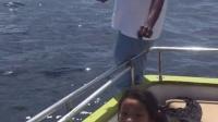在马尔代夫钓鱼