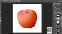 PS鼠绘苹果教程  ps基础教程