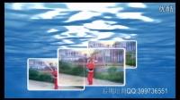 广场舞三维视频片头AE自动模板
