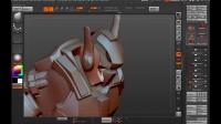 【ZBrush雕刻】硬表面速雕—快速展示雕刻一个结构齐全的机器人