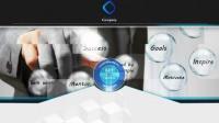 企业亮丽幻灯片平滑分割线商务公司宣传产品介绍AE模板