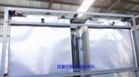 实拍——山东邹平县某商用食品白钢蒸房使用内胆结构及材质