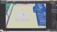 3dmax毛皮坐垫、白木材质(三)【模型云】