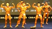 冉茂荣2014 IFBB韦德钻石杯国际健美公开赛古典健美公开组预赛2