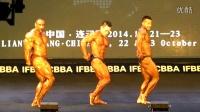 2014 IFBB韦德钻石杯国际健美公开赛全场冠军争夺,中国冉茂荣70公斤级冠军 韩国金俊浩80公斤级冠军 伊朗选手90+冠军
