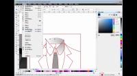 CorelDRAW教程、CDR服饰UI图标设计