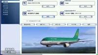 飞行小家录制  模拟飞行10AS空客320航线飞行实例教程 带中文解说