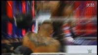 【中文字幕解说】WWE罗曼兰迪暴打罗林斯 超清