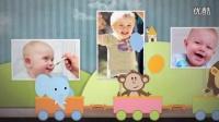 A0791可爱卡通儿童生日婴儿照片相册妈妈孕妇相片AE模板
