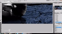 [PS]youtube-photoshop创意资源站PS创意平面教程-坠毁直升机