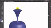 潭州平面设计AI教程 3D绕转效果设计