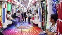 京东618号主题列车在宁波地铁1号线正式亮相!