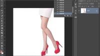 [PS]红色高跟鞋海报photoshop cc2015教程PS抠图PS调色PS合成淘宝美工PS基础入门淘宝美工PS教程