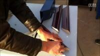 视频: 裱框切角机2 望谟县裱框打钉机价格 十字绣框拼角机做画框 钉框机视频