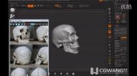 ZBrush模型课程-头骨雕刻17