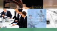 时间线专题片图形报表动态标题三合一套装公司企业宣传片AE模板