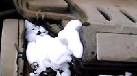 顽固油渍-发动机外部清洗