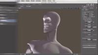 PS三维模型二维数字绘制技术视频教程