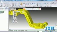 6.E solid edge ST5 同步建模构造过程性特征之沿曲线进行阵列