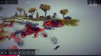 小游戏besiege -围攻- 自旋转火焰喷射器