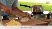 酥烤鳕鱼块和加拿大苹果 BlueWhale_Canada