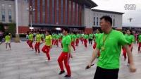 吉林站东方明珠广场舞感谢吉林银行的友情赞助的表演2