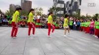 吉林站东方明珠广场舞感谢吉林银行的友情赞助姐妹花的赞助表演