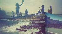 时尚动态视频剪辑多画面企业宣传片旅游生日聚会照片AE模板